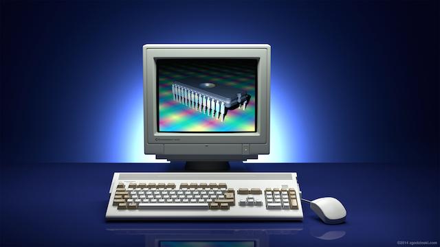 Commodore Amiga 1200 30 anni