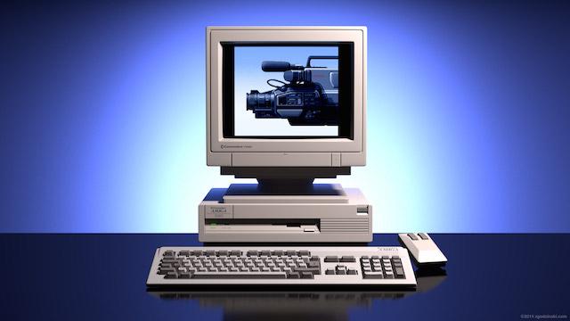 Commodore Amiga 3000 30 anni