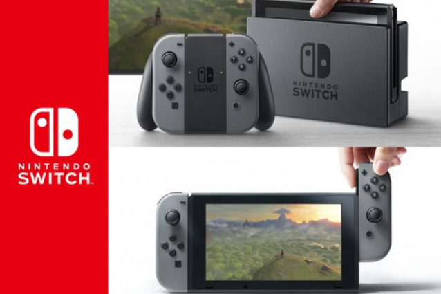 Nintendo Switch costerà 399 euro