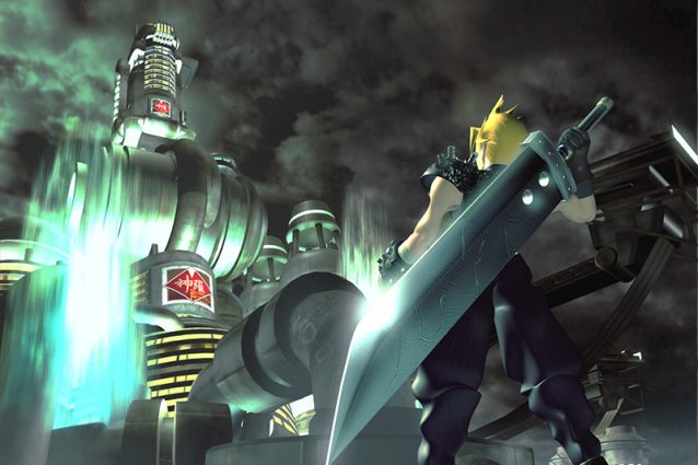 cloud final fantasy vii 20 anni