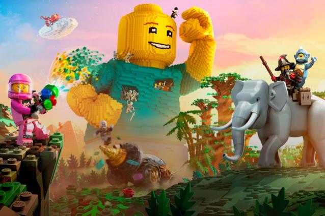 In LEGO Worlds i mattoncini sfidano Minecraft