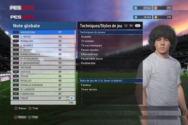 """Maradona denuncia PES 2017: """"Il gioco usa la mia immagine senza permesso"""""""