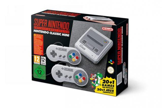Nintendo annuncia SNES Classic Mini, la nuova console in uscita a settembre