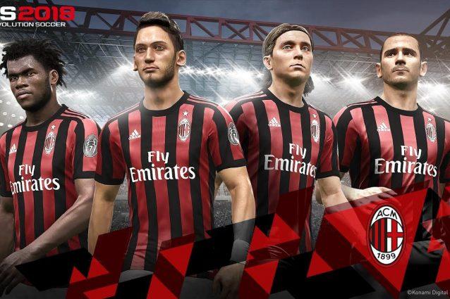 La novità di PES 2018 che piacerà ai fan del Milan