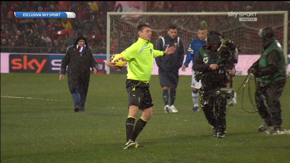 Sampdoria genoa rinviato per pioggia il derby della for Idee per gara di cucina scout
