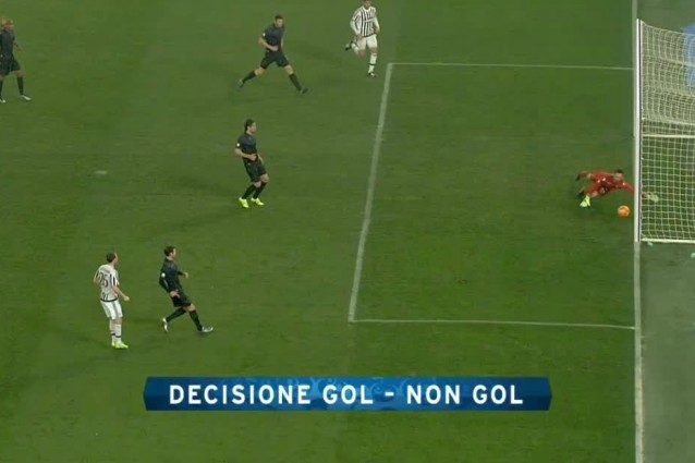 Goal Line Technology determinante per l'1-0 Juve