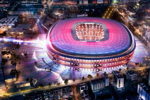 Image output for new camp nou