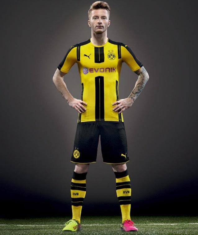 divisa Borussia Dortmund nuova