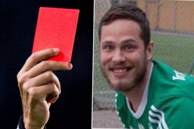 Svezia, calciatore espulso per un peto