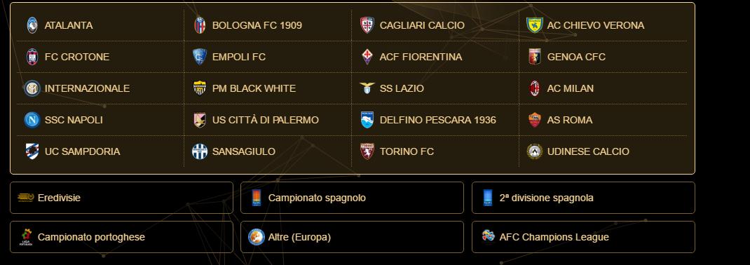 Anche il Sassuolo non ha il nome ufficiale a PES 2017.