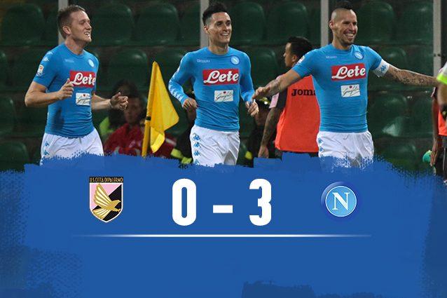 Palermo-Napoli 0-3