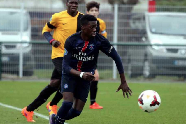 Terza Maglia PSG Timothy WEAH