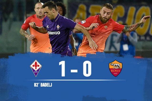 Fiorentina-Roma 1-0