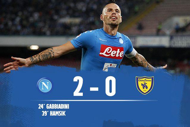 Napoli-Chievo 2-0