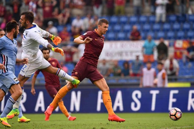 Serie A: la Roma con un rigore di Totti al 93′ batte la Samp, Milan ko con l'Udinese