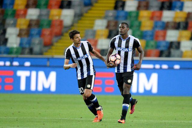 Le formazioni ufficiali di Udinese-Chievo Verona