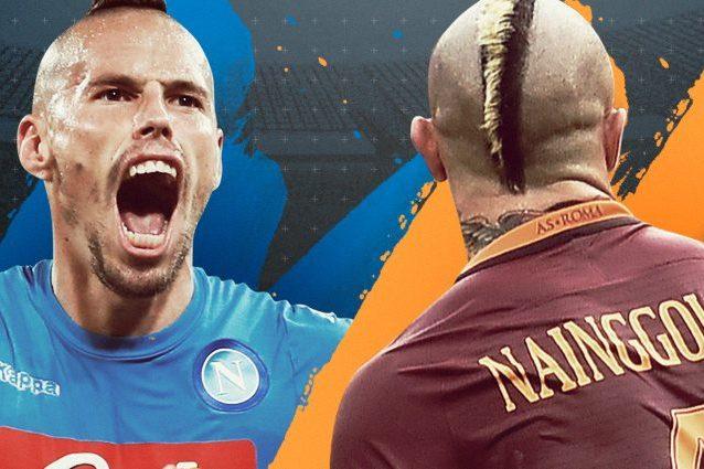Napoli-Roma diretta live 8a giornata Serie A 2016-2017