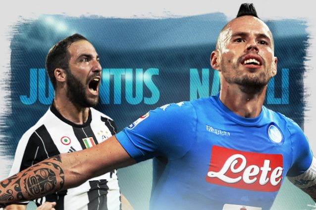 Juventus-Napoli diretta 11a giornata Serie A 2016/2017