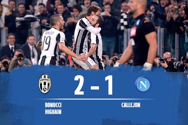 Juve batte Napoli 2-1