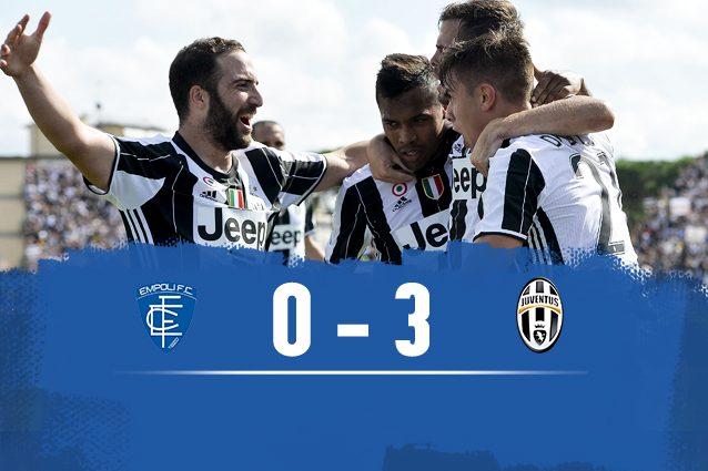 Empoli-Juventus 0-3