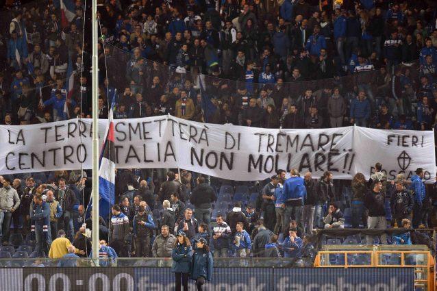 """""""Centro Italia non mollare"""""""