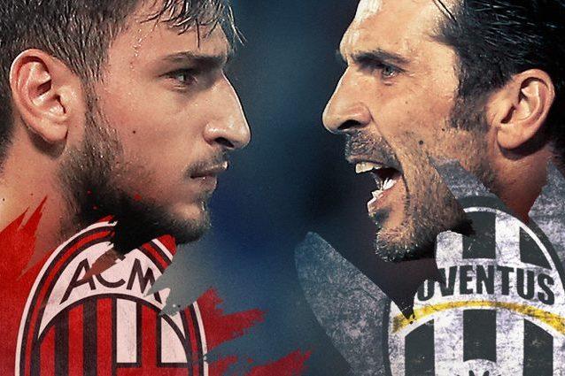 Milan-Juventus diretta live 9a giornata Serie A 2016-2017