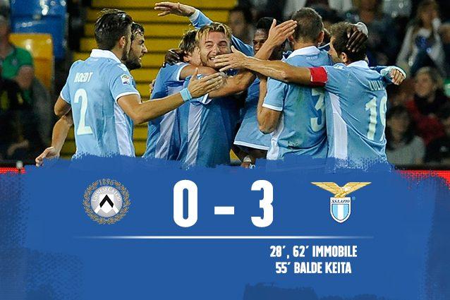 Udinese-Lazio 0-3