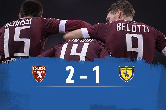 Torino batte Chievo 2-1