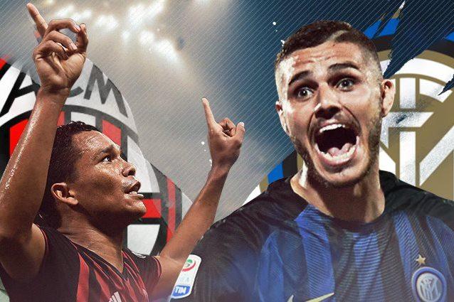 Milan-Inter diretta 13a giornata Serie A 2016/2017