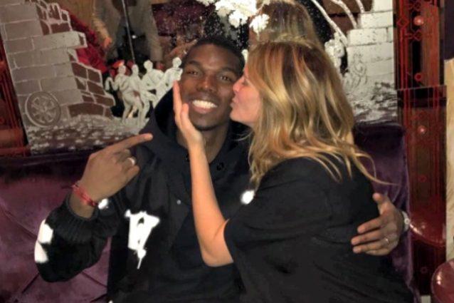 """Pogba e il bacio con Julia Roberts: """"Bellissima donna, sono fortunato"""""""