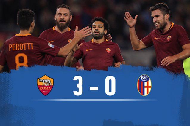 Roma batte Bologna 3-0