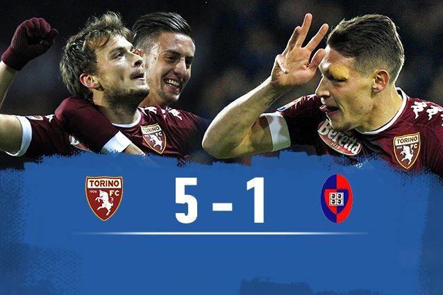 Torino-Cagliari 5-1