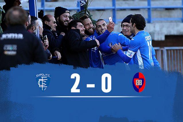 Empoli batte Cagliari 2-0