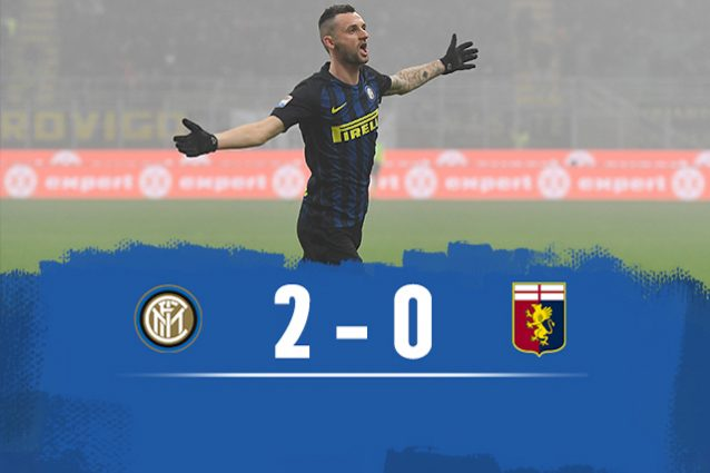 Inter batte Genoa 2-0