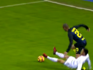 La Lazio chiede un rigore