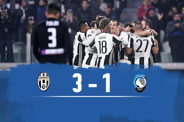 Juventus-Atalanta 3-1