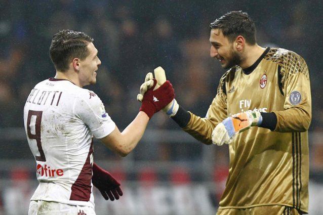 Torino-Milan diretta 20a giornata Serie A 2016-2017