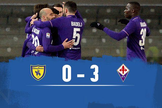Fiorentina batte Chievo 3-0