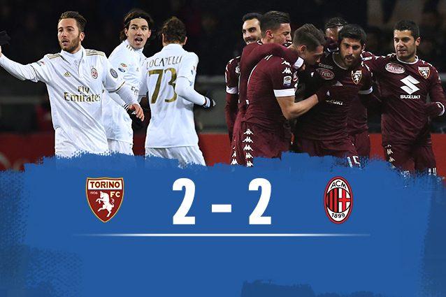 Torino-Milan 2-2