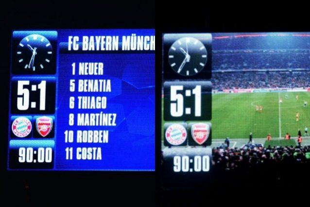 """Bayern, sfotto' all'Arsenal: """"Stesso risultato l'anno prossimo?"""""""