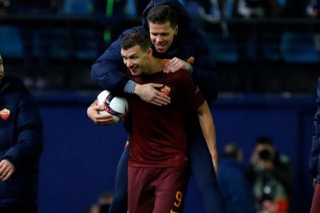 Dzeko implacabile, capocannoniere in Italia e in Europa
