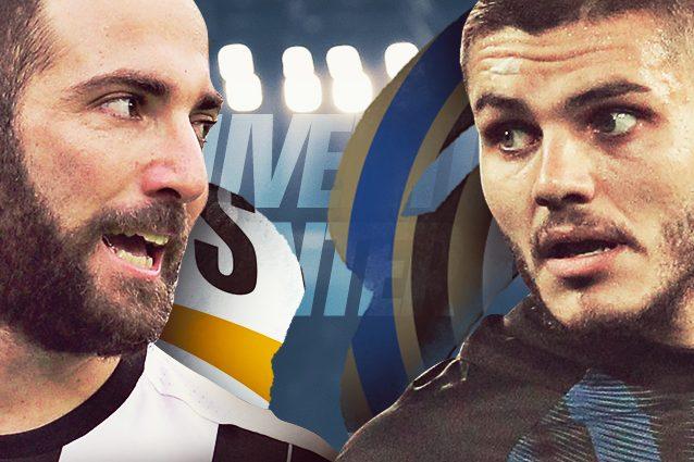 Juventus-Inter diretta 24a giornata Serie A 2016/2017