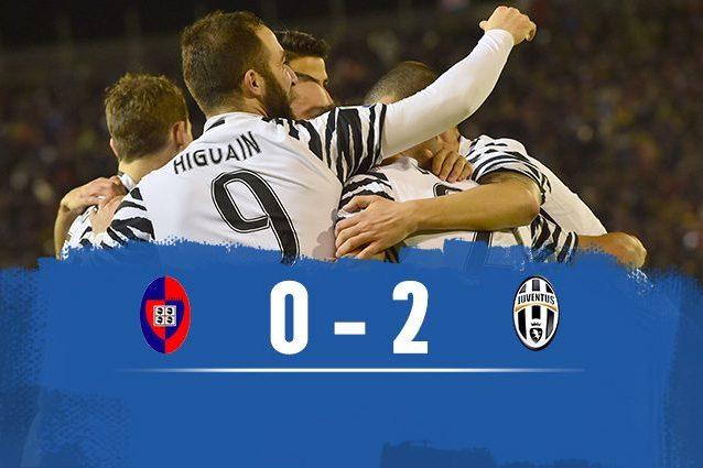 Fischio finale: Cagliari-Juventus 0-2