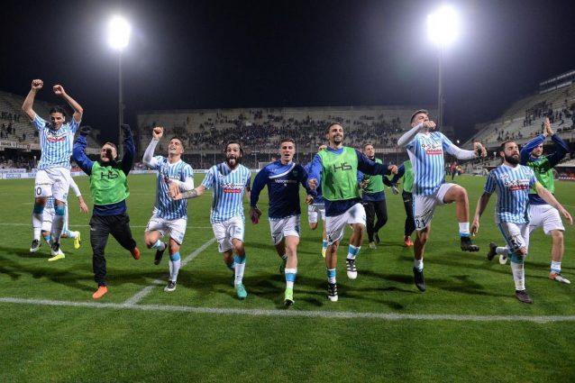 Serie B, la Spal vince a Salerno e si porta a un punto dal Frosinone