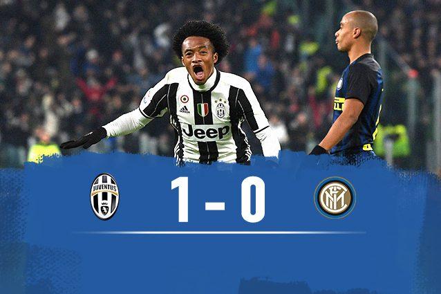 Juventus batte Inter 1-0