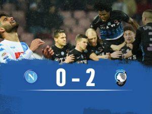 """Caldara """"spegne"""" il Napoli: l'Atalanta vince al San Paolo e avvicina l'Europa"""