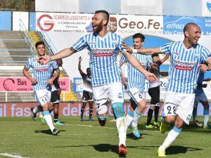 Serie B, 30a giornata: 2-0 al Cesena, la Spal balza al comando