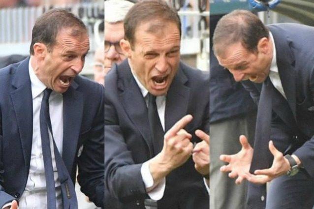 """'Hulk' Allegri a Rugani: """"O giochi con malizia oppure sei da playstation"""""""