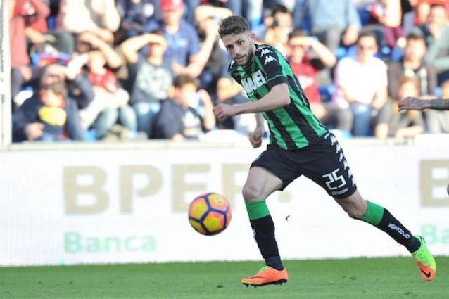 Berardi-Inter, via libera: si tratta con il Sassuolo