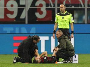Milan, contro il Genoa Bertolacci si infortuna dopo soli 10 secondi: è record
